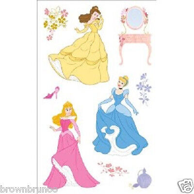 SANDYLION DISNEY PRINCESS BELLE BEAUTY AND THE BEAST PINK SHEET STICKERS A2367