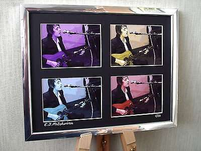 Pete Doherty Ltd Edition Signed Pop Art Canvas