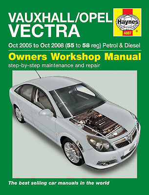 Haynes Workshop Manuale Di Riparazione Opel Vectra 05-08