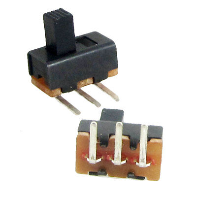 5Pcs 5mm High Knob 3 Pin 2 Position 1P2T SPDT Right Angle Slide Switch 0.5A 50V