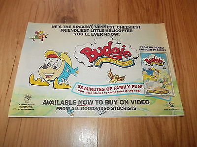Budgie the little helicopter-1994 magazine advert