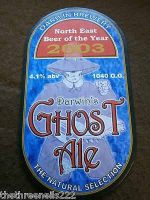Beer Pump Clip - Darwin Ghost Ale