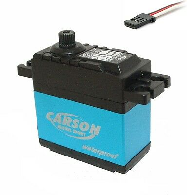 Carson 502042 ** Waterproof ** CS-9 Reflex Servo Metallgetriebe 9kg/JR - Neuware