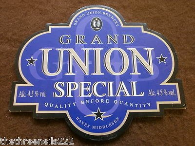 Beer Pump Clip - Grand Union Special