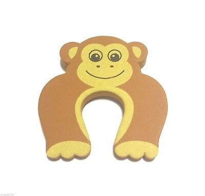 Door Stopper Monkey Finger Protect Safe Guard Baby Child Kids Pets