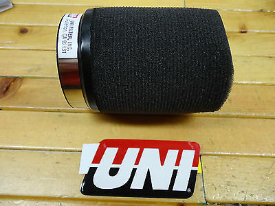 """UNI UNIVERSAL POD AIR FILTER FITS 50mm OR 2"""" CARB FLANGE FREE SHIPPING"""