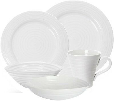 Portmeirion Sophie Conran White 20 Piece Dinner Set - New/Unused