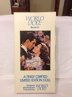 "World Doll Presents Donna Reed As Mary Bailey In ""Its A Wonderful Life"" 71810"
