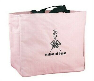 Matron of Honor Pink Tote