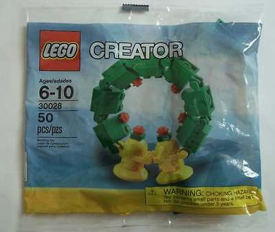 Lego # 30028 Exclusive Christmas Wreath Bells New Sealed HTF Retired