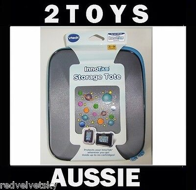 Vtech INNOTAB 2 & 3 Console PROTECTIVE STORAGE CASE ~ GREY Space ~ NEW Innotab3