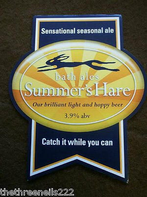 Beer Pump Clip - Bath Ale's Summer's Hare