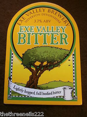 Beer Pump Clip - Exe Valley Bitter