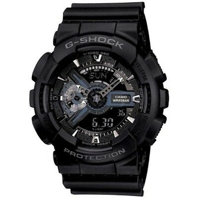 Casio G-Shock X-Large XL Analog-Digital - GA110-1B Military Black