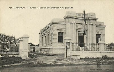 Cpa vietnam indochine annam eglise de tourane 1924 for Chambre de commerce vietnam