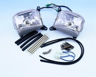 Honda GL1500 GL1500 1988-0000 Driving Fog Cornering Light Kit NEW Show Chrome