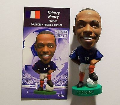 Prostars FRANCE (HOME) HENRY, PRO969 Loose With Card LWC