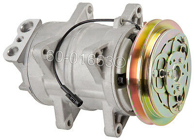 Brand New Top Quality AC Compressor & A/C Clutch Fits Isuzu NPR Truck