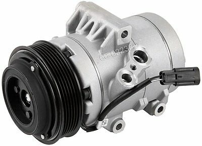 AC A/C Compressor with Clutch for Ford Fusion Mercury Milan 2007-2012