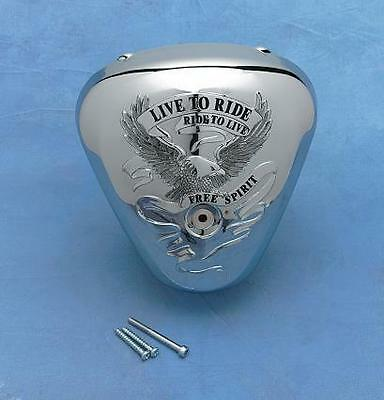 Show Chrome Air Cleaner Cover  Free Spirit 62-107*