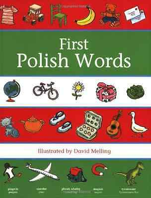 First Polish Words (First Words (Oxford)) - Paperback NEW Melling, David 2009-05