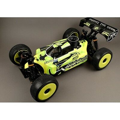 "HS JQ Products 1/8 Scale ""The Car"" 4WD Nitro Buggy Chassis PRO KIT JQPB577"