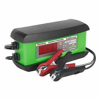 Sealey Schumacher 3A Intelligent Lithium Calcium / AGM / Gel Battery Charger