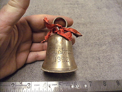 Christmas 1992 Silver Plated  Bell
