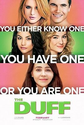The Duff - original DS movie poster - 27x40 D/S