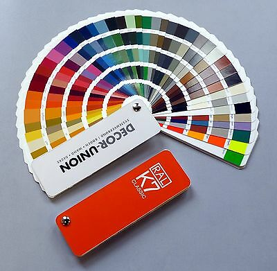 Original Ral Color Cards Swatches K7 Classic 213 Colour Tones Newest Version