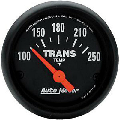 Auto Meter 2640 Z-Series Transmission Temperature Gauge 2-1/16'' Electrical