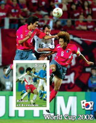 World Cup 2002 on Stamps -  Stamp Souvenir Sheet  - 6420