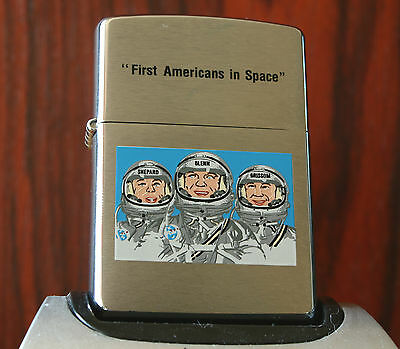 LIMITED EDITION ZIPPO - FIRST AMERICANS IN SPACE