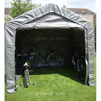 Large Garden Shed Portable Garage Shelter Canopy Gazebo Plastic Storage Tent New