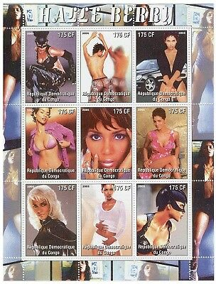 Halle Berry On Stamps 108-05