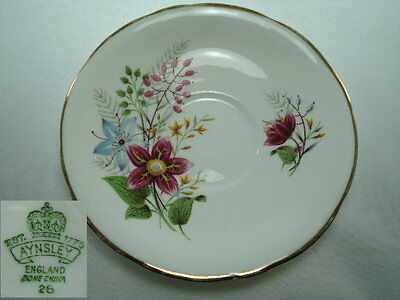 Aynsley Floral Saucer