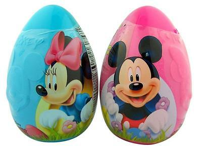 Disneys Mickey & Minnie Mouse Candy and Toy Filled Jumbo Character Eggs - 2 Pack