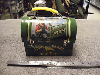 Small John Deer  Tin Lunch Box