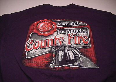 Firefighting LOS ANGELES COUNTY FIRE Since 1923 (Extra Large) T-shirt