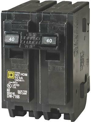 New Square D Hom240Cp Homeline 40 Amp Double Pole Circuit Breakers 6721351