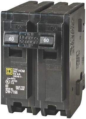 New Square D Hom260Cp Homeline 60 Amp Double Pole Circuit Breakers 6721385