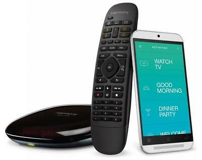 Logitech Harmony Companion Home Control Black 915-000239 - 8 devices
