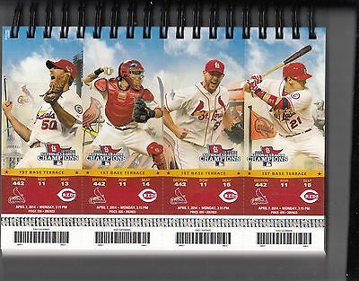 2014 St Louis Cardinals Pick Your Game Taveras 1St Half Ticket Stub Many Dates