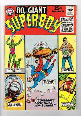 Eighty Page Giant # 10 Journey of the Second Superboy ! grade 3.5 hot book !!