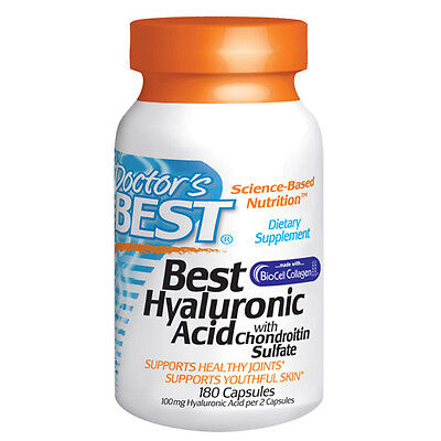 Best Hyaluronic Acid with Chondroitin - 60 Caps