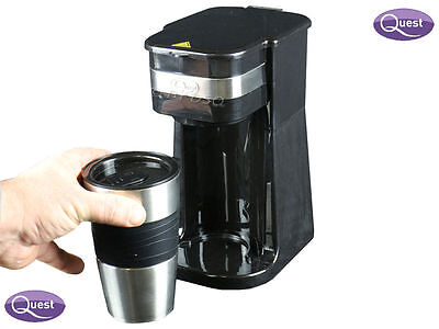One Touch Automatic Digital Filter Coffee Maker Machine Making Thermal Small