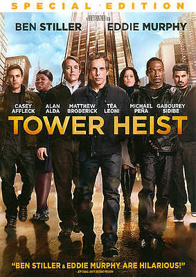 Tower Heist (DVD, 2012 Special Edition w/2 Alternate Endings)-WIDESCREEN---NEW--