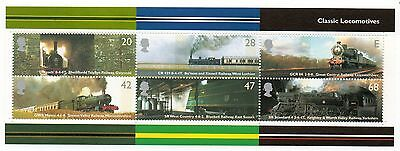 GB 2004 Classic Locomotives unmounted mint mini / miniature sheet MNH m/s stamps