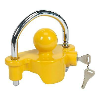 Sealey Universal Fitting Tow/Towing Ball Trailer Hitch Anti Theft Lock 50mm-TB45