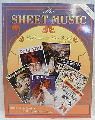 Sheet Music  Reference &  Price Guide  Identification Book 2Nd Edition